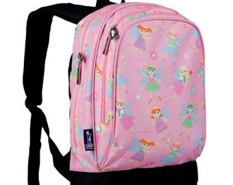 Personalized fairy mermaid monogram backpack
