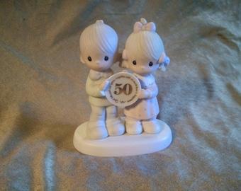 Precious Moments 50th Anniversary Figurine
