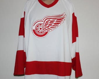 Vintage Detroit Red Wings NHL Jersey XL