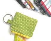 Headphone pouch, Gym Bag, Travel Pouch, Small Gym Pouch, Travel Storage, Library Card Pouch