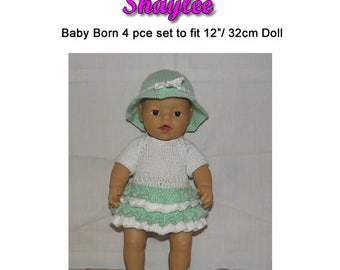 SHAYLEE To fit  12 inch (32cm) baby born doll and similar size dolls