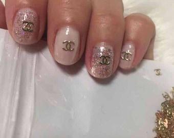 Coco Chanel 200 pcs 3D Nail Art