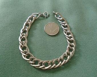 "Singapore Chain Bracelet 9mm 17g Sterling Silver (7.25"")"