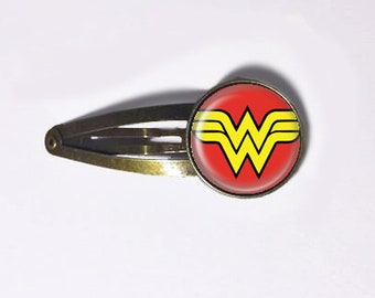 Wonder Woman Hair Clip
