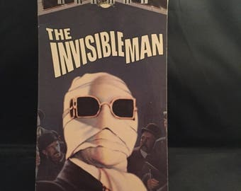 The Invisible Man up cycled journal / sketchbook