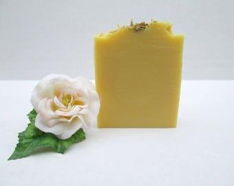 Calendula Carrot Soap, Goat's Milk Soap, Carrot Soap, Handmade Soap, All Natural Soap, Artisan Soap, Homemade Soap