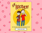 Oh Brother - A story about growing up with brother with autism - a full colour mini comic sampler
