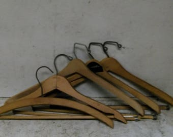 5 clothes hangers