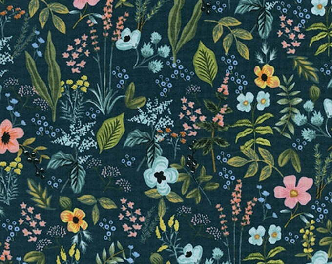 PRESALE: Herb Garden - Navy by Rifle Paper Co. for Cotton + Steel