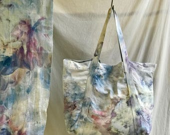 Oversized canvas tote bag