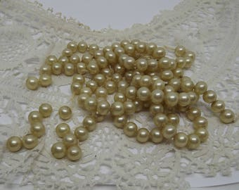 Vintage, Pearl, Beads, Faux Pearls, Pearls, Jewellery Making, Jewelry Making, Restringing, Beading, Steampunk, Supplies, Project