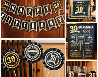 40TH BIRTHDAY PARTY Welcome Sign Door Sign Yard Sign 40th