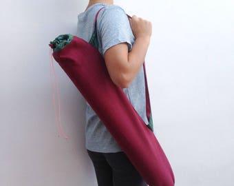 Sack bag for yoga unisex / Borsa porta tappetino yoga,unisex. Sacca tappetino yoga. Borsa stuoia yoga. Sacca a tracolla yoga. Accessori yoga