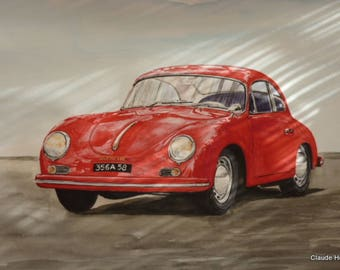 PORSCHE 356 1958 A CARRERA 1600 RED