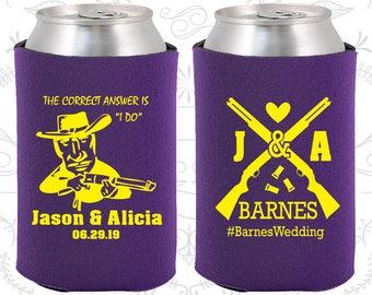 Purple Wedding, Purple Can Coolers, Purple Wedding Favors, Purple Wedding Gift, Purple Party Gift (563)