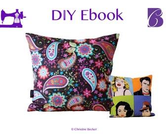 Ebook PDF Tutorial Pillow Cover with Zipper