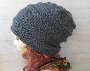 Winter Beanie Hat Mütze, Accessories knit, Slouchy Cap ,Handmade with Love