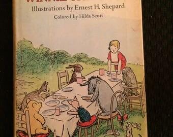 Vintage A A MILNE Winne the Pooh Ernest H Shepard Hard Copy Color Edition Mclelland Stewart