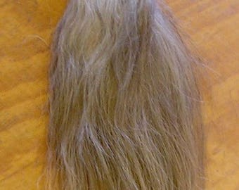 White/Gray/Flaxen Horse Tail