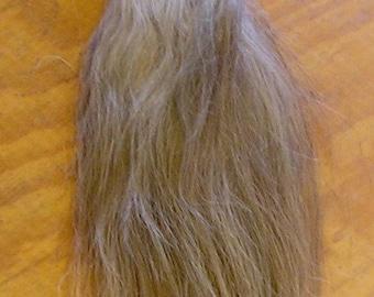 White/Gray/Flaxen Horse Tail