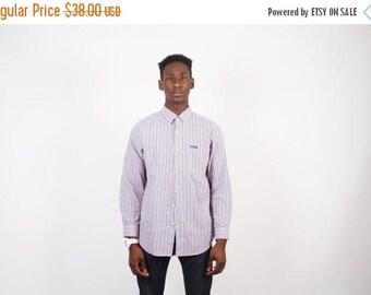 FINAL SALE - Vintage Chaps Dress Shirt - 90s Chaps Shirt - Men's Button Up Shirt - 1916