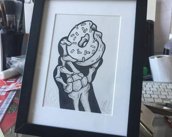 Doughnut Hand X-Ray