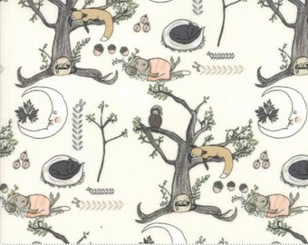 Hushabye Hollow - Woodland Scene Floral by  Lydia Nelson for Moda, 1/2 yard, 49010 11