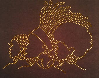 GOLD Afro Heads T-Shirts