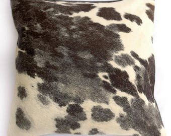 Natural Cowhide Luxurious Hair On Cushion/ Pillow Cover (15''x 15'') A93