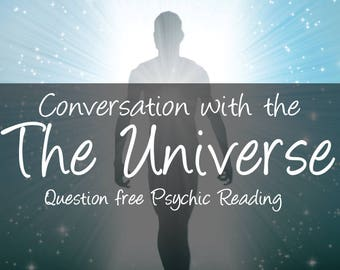 Psychic reading, Conversation with the Universe || Question Free psychic reading || universal messages discovered