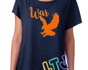 Auburn war eagle etsy for Auburn war eagle shirt