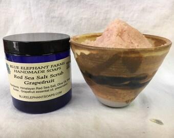 Grapefruit Red Sea Salt Body Scrub