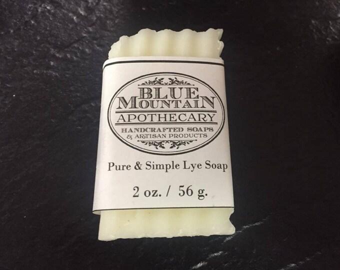 Pure & Simple Lye Soap