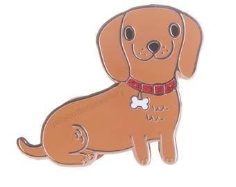 Dachshund - Sausage Dog Enamel Pin