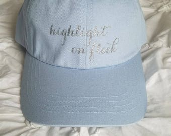 Highlight on Fleek Dad Hat