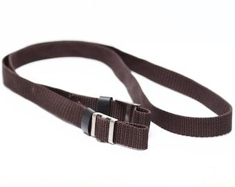 Vintage Neck Strap For Nikon Canon Olympus Pentax Polaroid Fuji 35mm Film Rangefinder SLR DSLR M4/3 Camera or Lens Case
