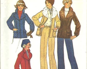 25% OFF Simplicity 7193    Misses Jacket with Detachable Collar and Pants    Size 10, 12