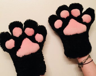 Black Hand Paws