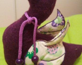 """Purple Goose"" baby gift"