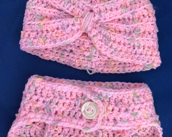 Hat and Diaper Cover