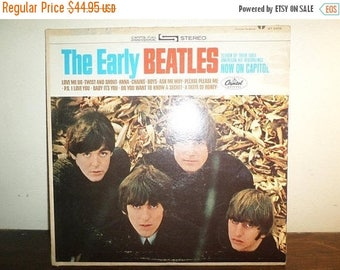 Save 30% Today Vintage 1965 Vinyl LP Record The Early Beatles Very Good Condition ST-2309 Stereo Version 10397