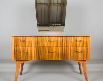 A 1950s 'Cumbrae' Dressing Table by Morris of Glasgow Retro Mid Century