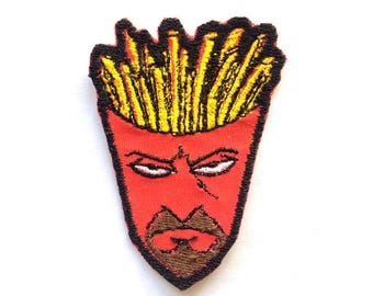 50 Frylock Aqua Teen Hunger Force Embroidered Iron-On Patches