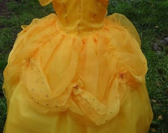 ON SALE Belle Dress handmade Princesses and this gorgeous dress