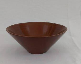Rude Osolnik - Early Wood Bowl - Osolnik Originals - Mid-Century Modern - MCM - Woodwork