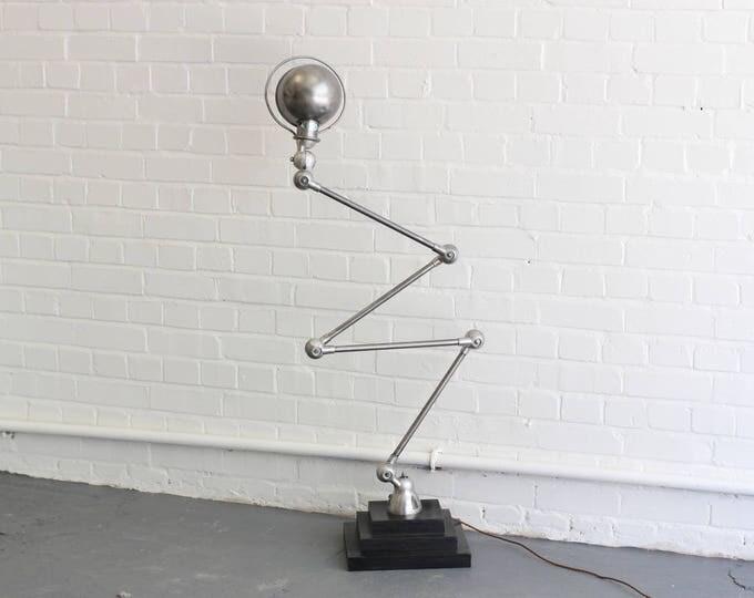 Floor Standing 4 Arm Task Lamp By Jielde Circa 1950s