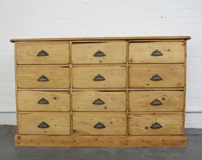 Early 20th Century German Apothecary Drawers Circa 1900