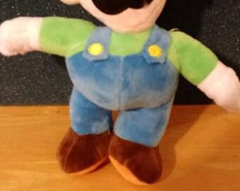 Super Mario Luigi plush 9 inch Nintendo