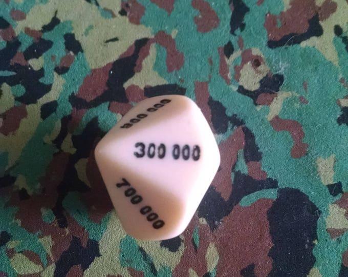 Unusual Dice - d000000