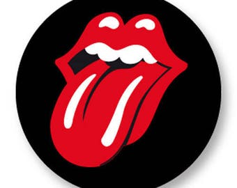 X 1 Rolling Stone metal 25mm Cabochon